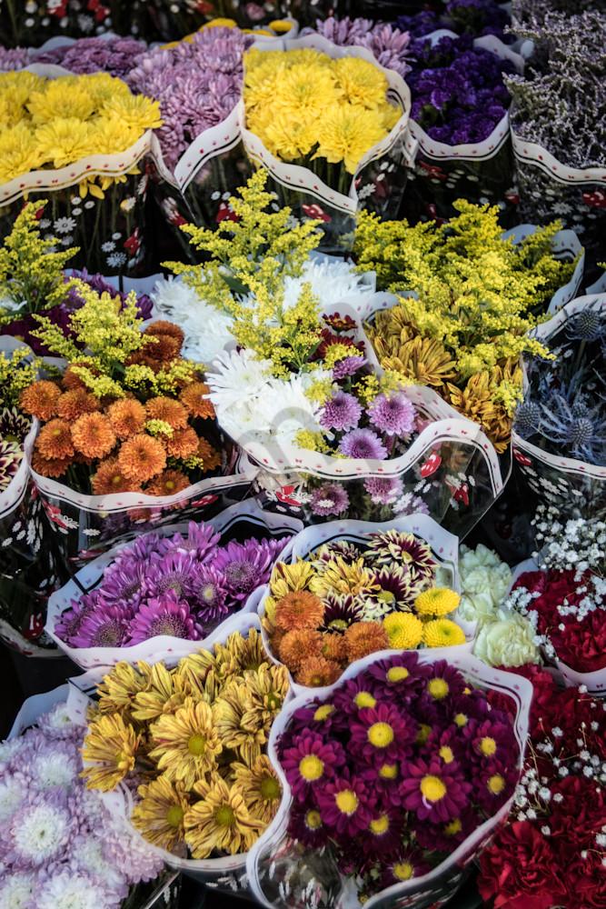 Flowermarket Photography Art | Barb Gonzalez Photography