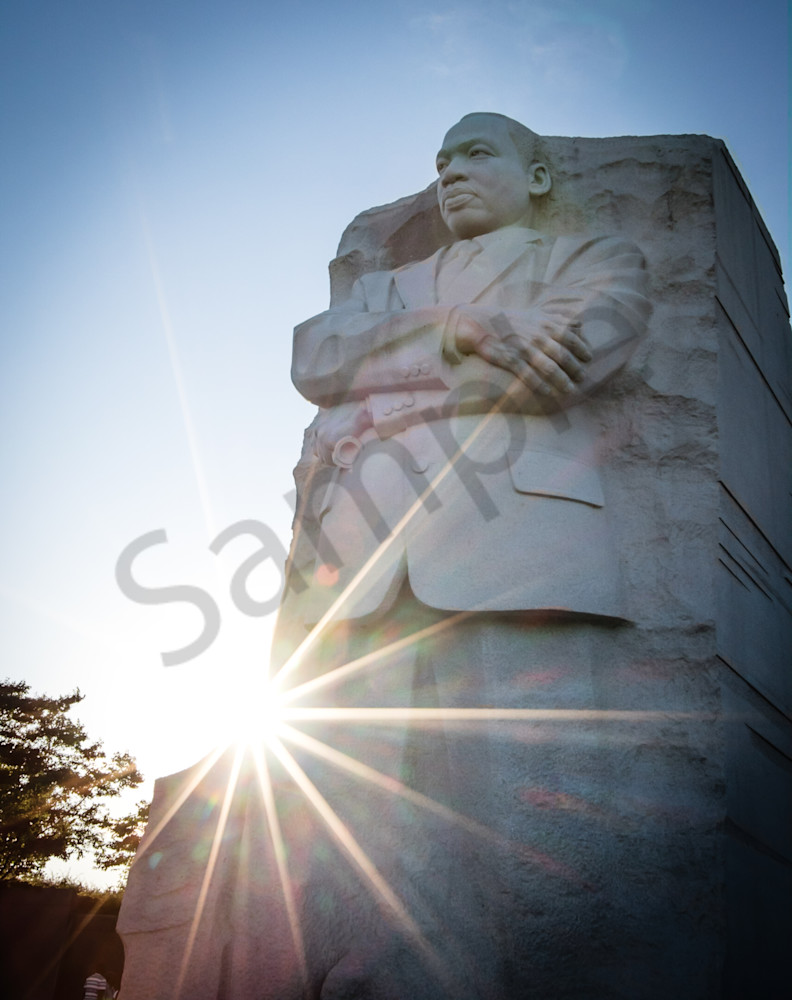 Powerful Martin Luther King Memorial photo for sale by Barb Gonzalez Photography