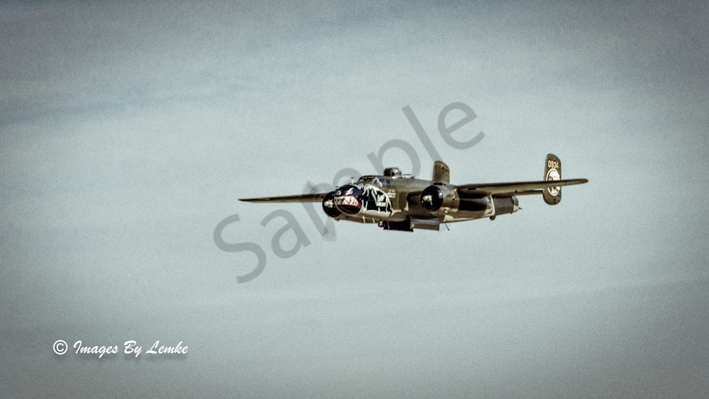 B-25J Betty's Dream Vintage Look