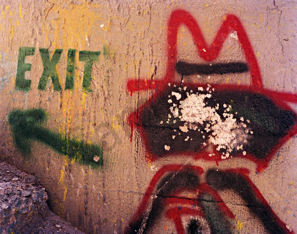 Man at the. Exit-2