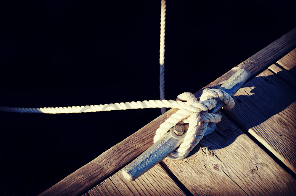 Rope And Cleat Photography Art | Sage & Balm Photography