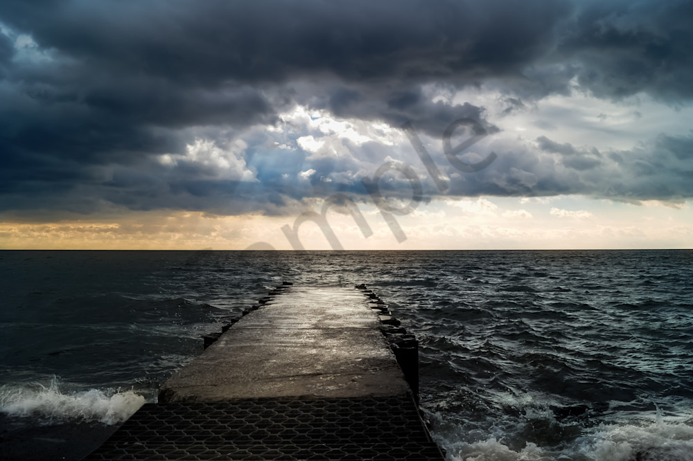 Sunset Off The Pier Photography Art | Sage & Balm Photography
