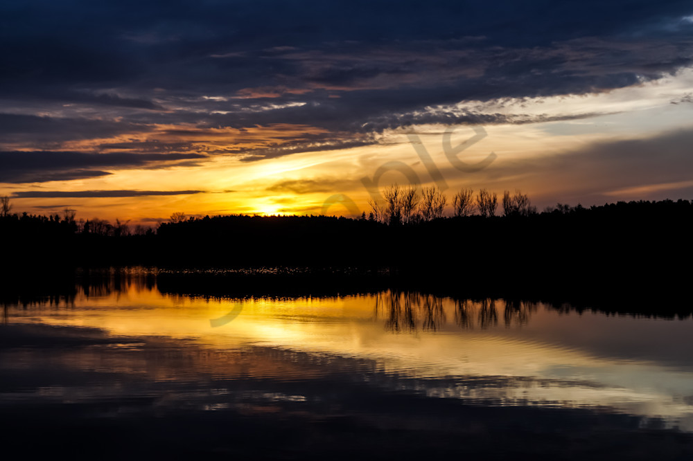 The Lake At Dusk Photography Art | Sage & Balm Photography