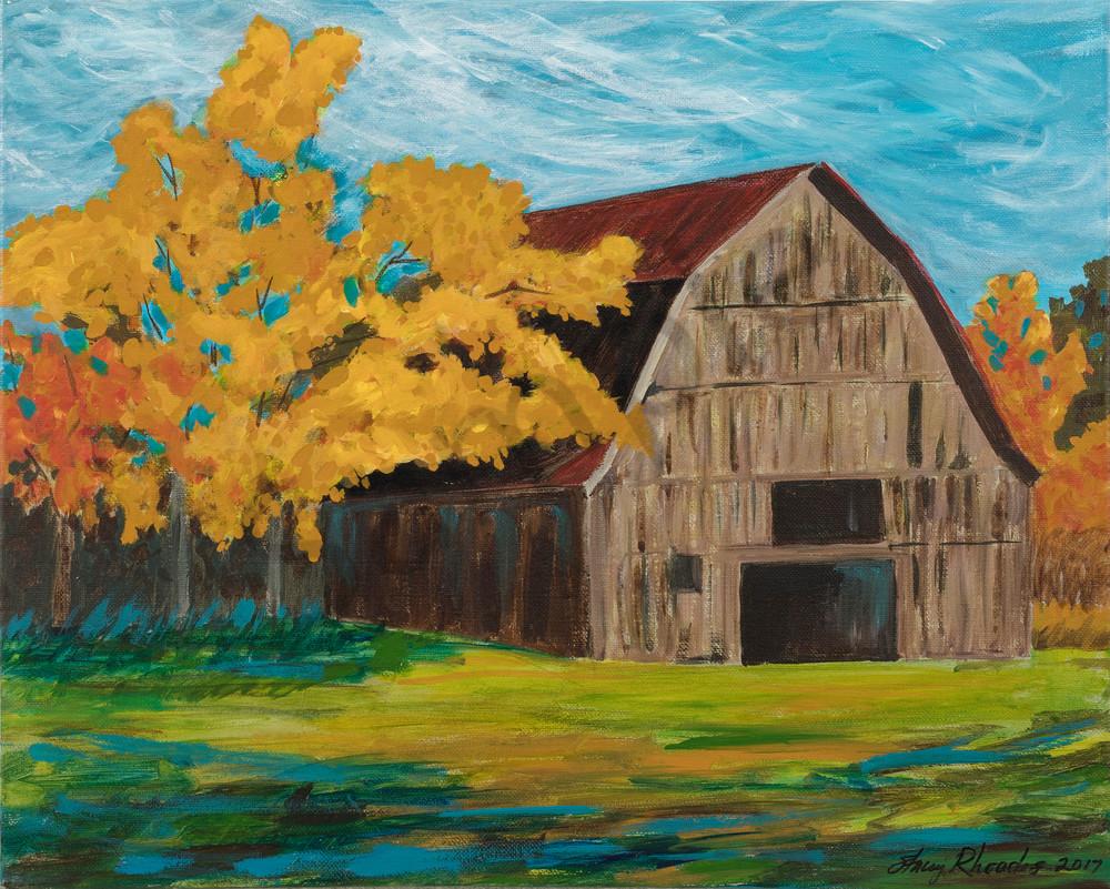 Barn Painting Art