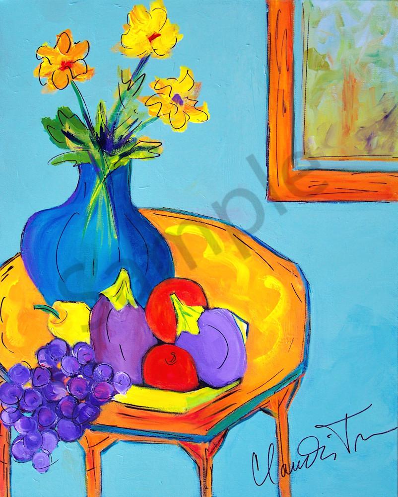 Summer Veggies painting