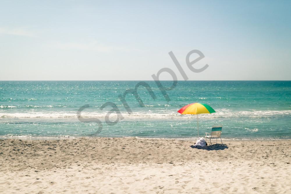 Beach Umbrella Photography Art | Sage & Balm Photography
