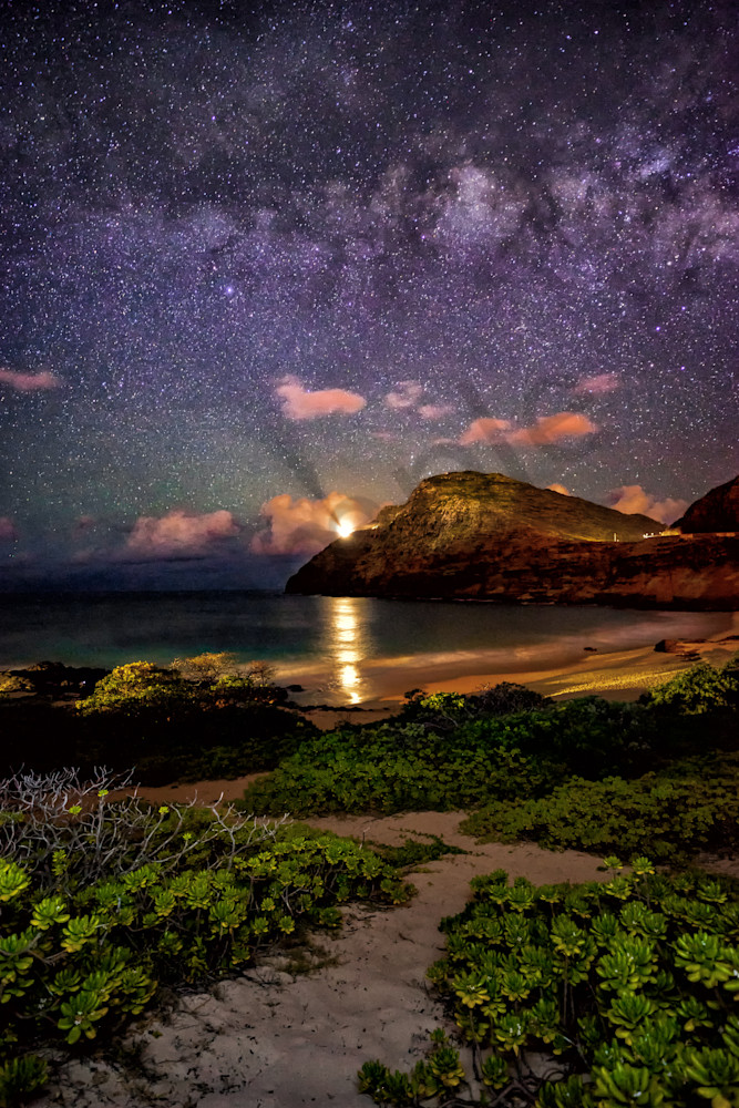 Hawaii Photography Path To The Heavens By Peter Tang