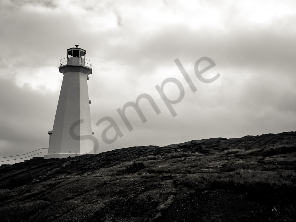 Lighthouse At Cape Spear Photography Art | Sage & Balm Photography