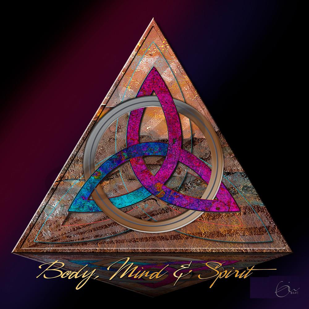 Celtic Symbol Holy Trinity Bodymindspirit Painting