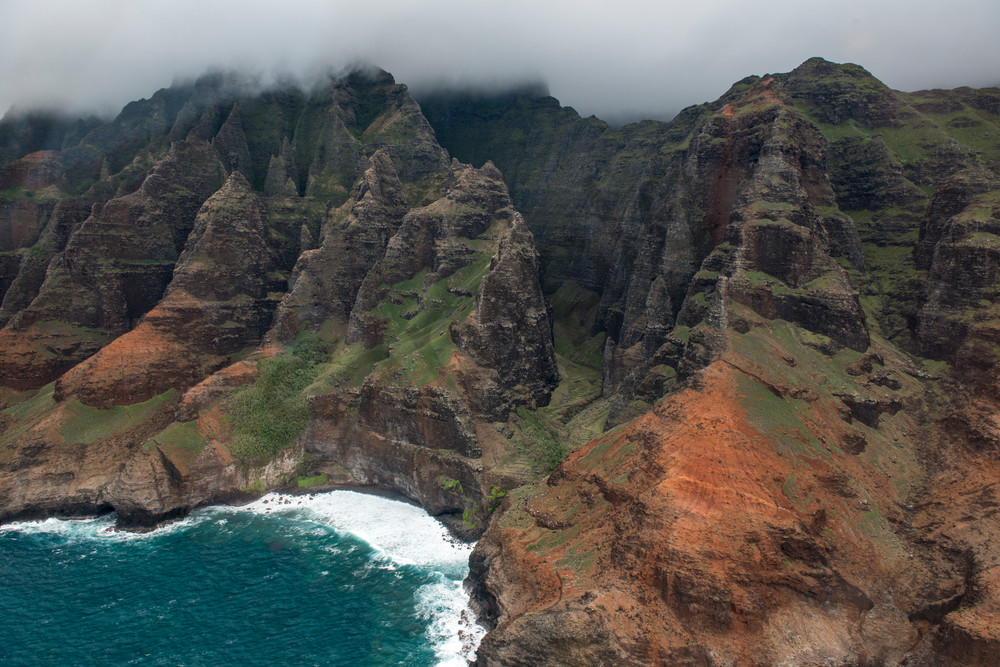 Na Pali Coast - beautiful Hawaii - photographs - fine art