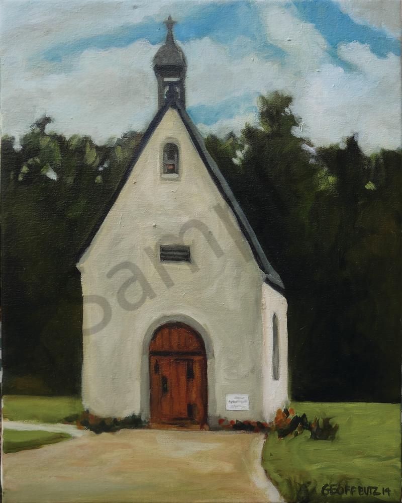 Schoenstatt Shrine Waukesha in Spring Art Print