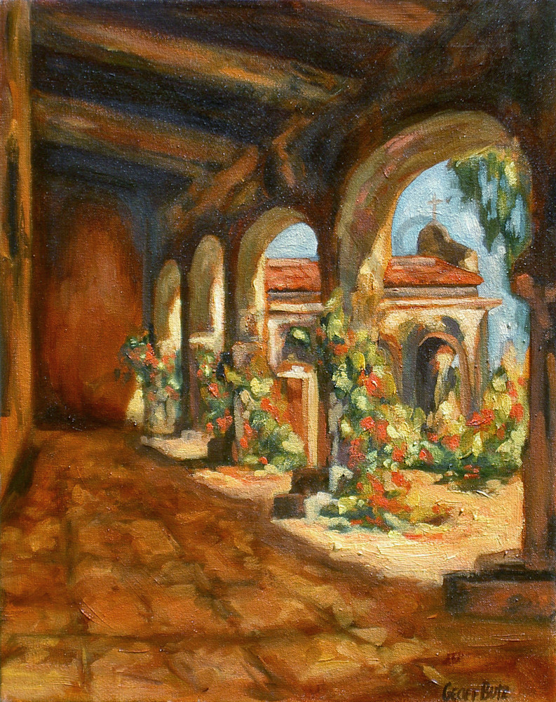 Mission Cloister Art | Geoffrey Butz Art & Design Inc