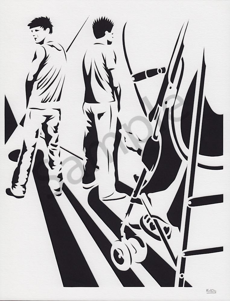 Art Walk Patrons by Karlsen Clay