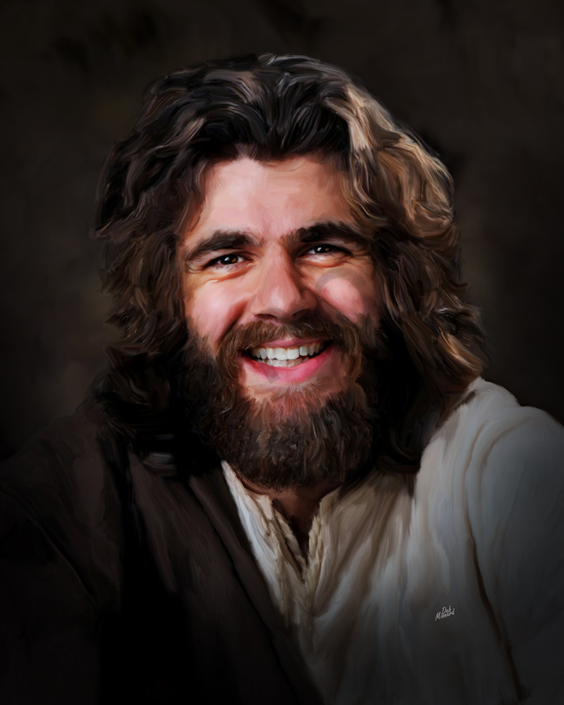 Jesus happy to see you
