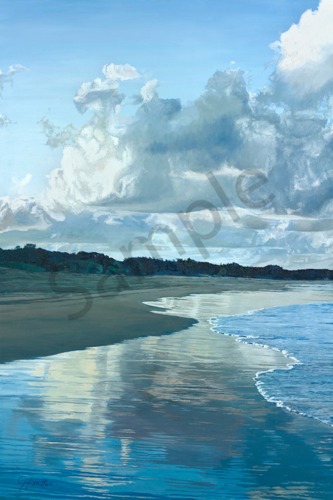 Clouds and the Evening Tide