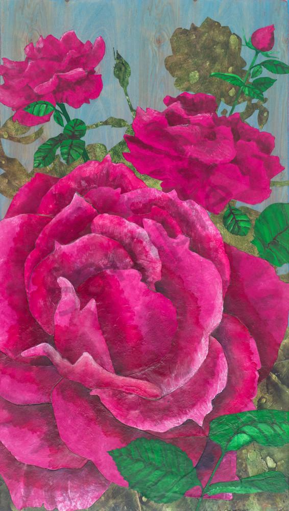 Pink Grandiflora Roses 1