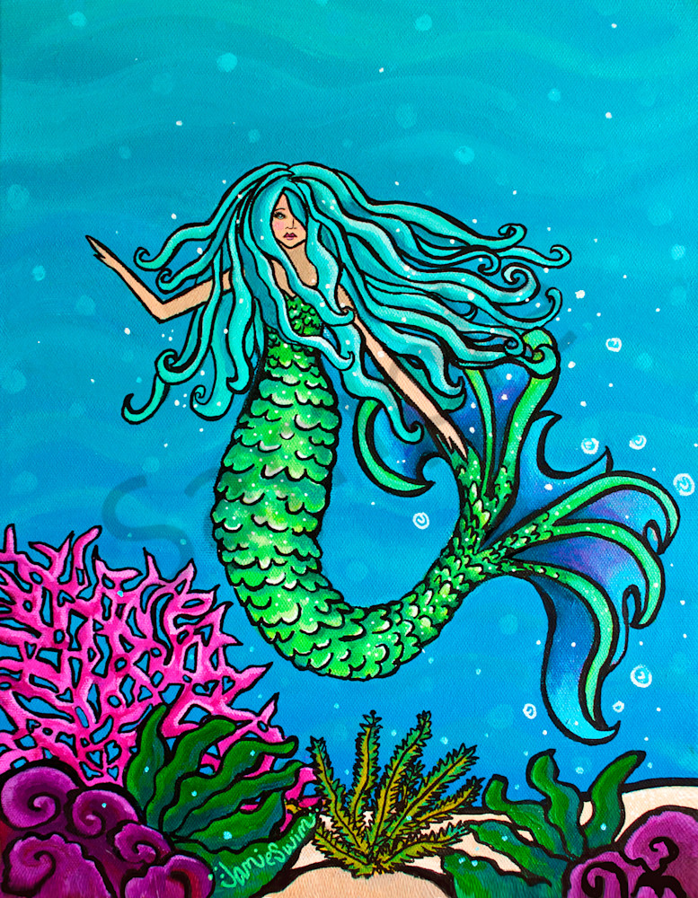 Maheli Art | Swim Whimsey
