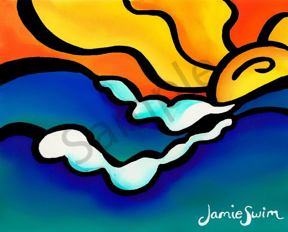 Sunrider Art | Swim Whimsey