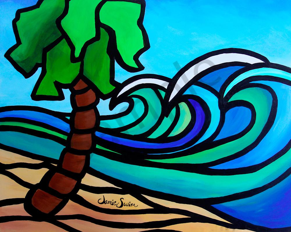 Triple Wave Art | Swim Whimsey