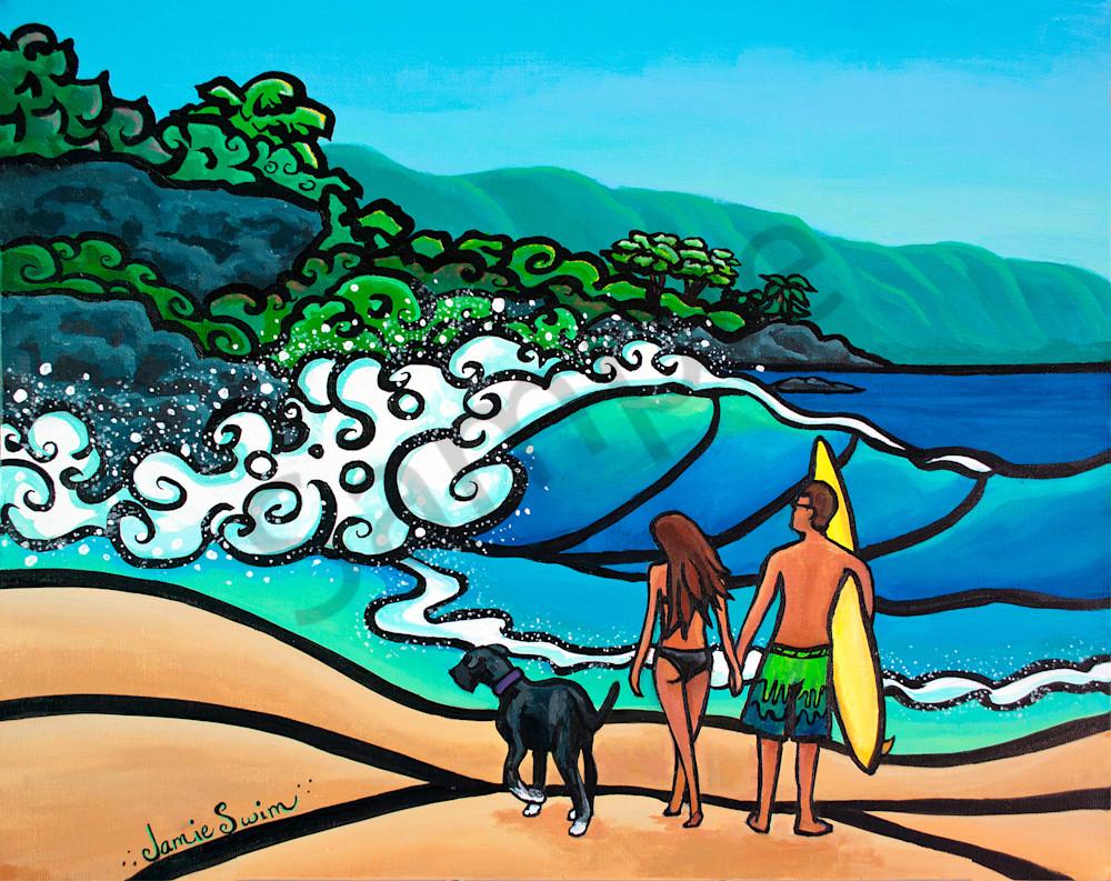 Waimea Love Art | Swim Whimsey