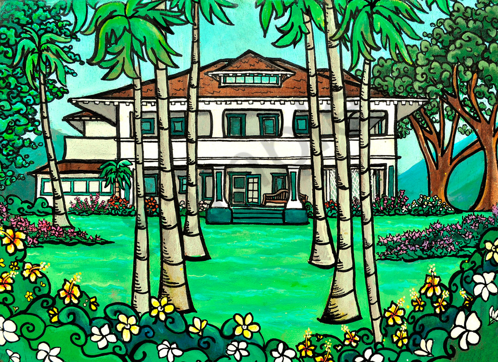 Plantation House Art | Swim Whimsey