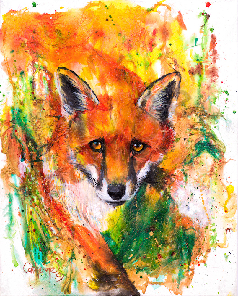 Ink Series Fox II