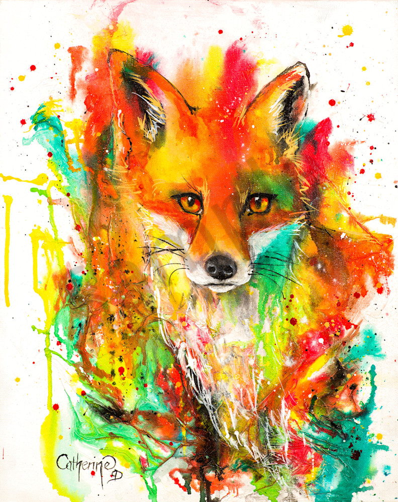 Ink Series Fox I
