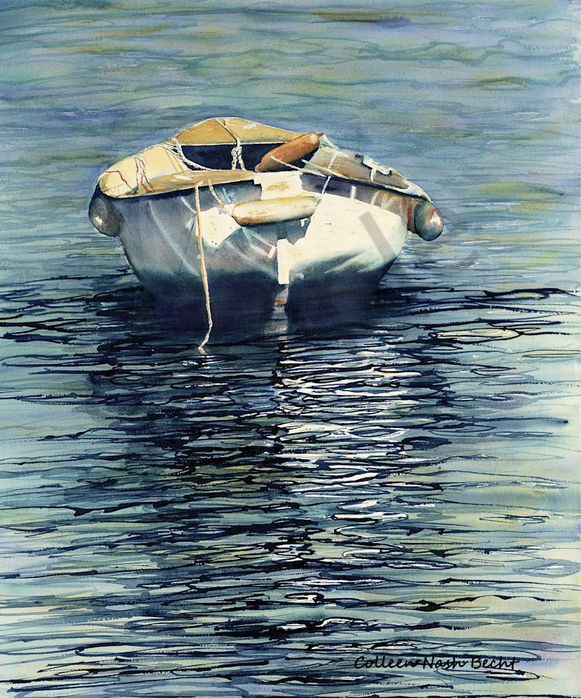 Blue Water Art | ColleenNashBecht