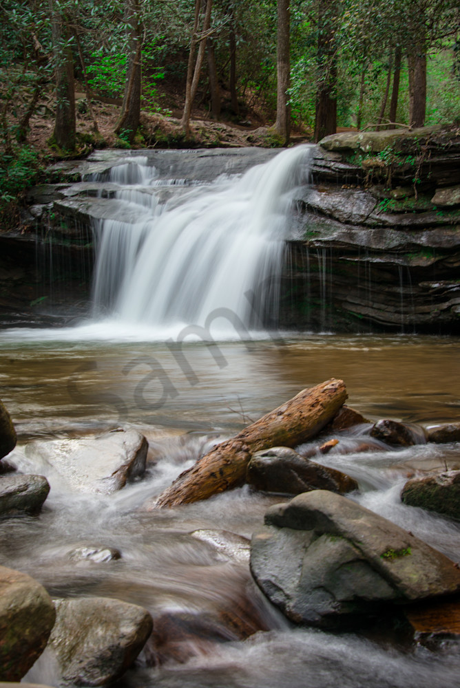Carrick Creek Falls Photograph for Sale as Fine Art