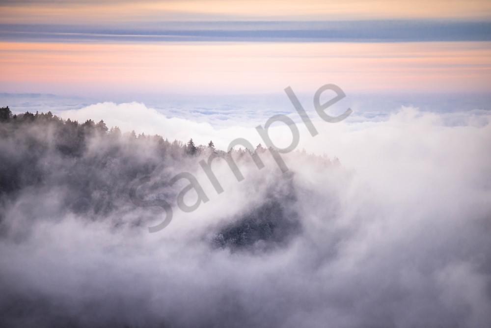 Blue Ridge Winter Photograph for Sale as Fine Art