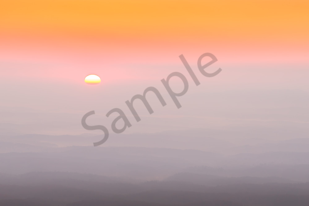 Linville Gorge Sunrise Photograph for Sale as Fine Art