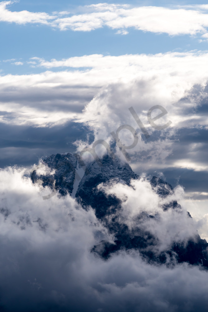 The Grand Teton Photograph for Sale as Fine Art
