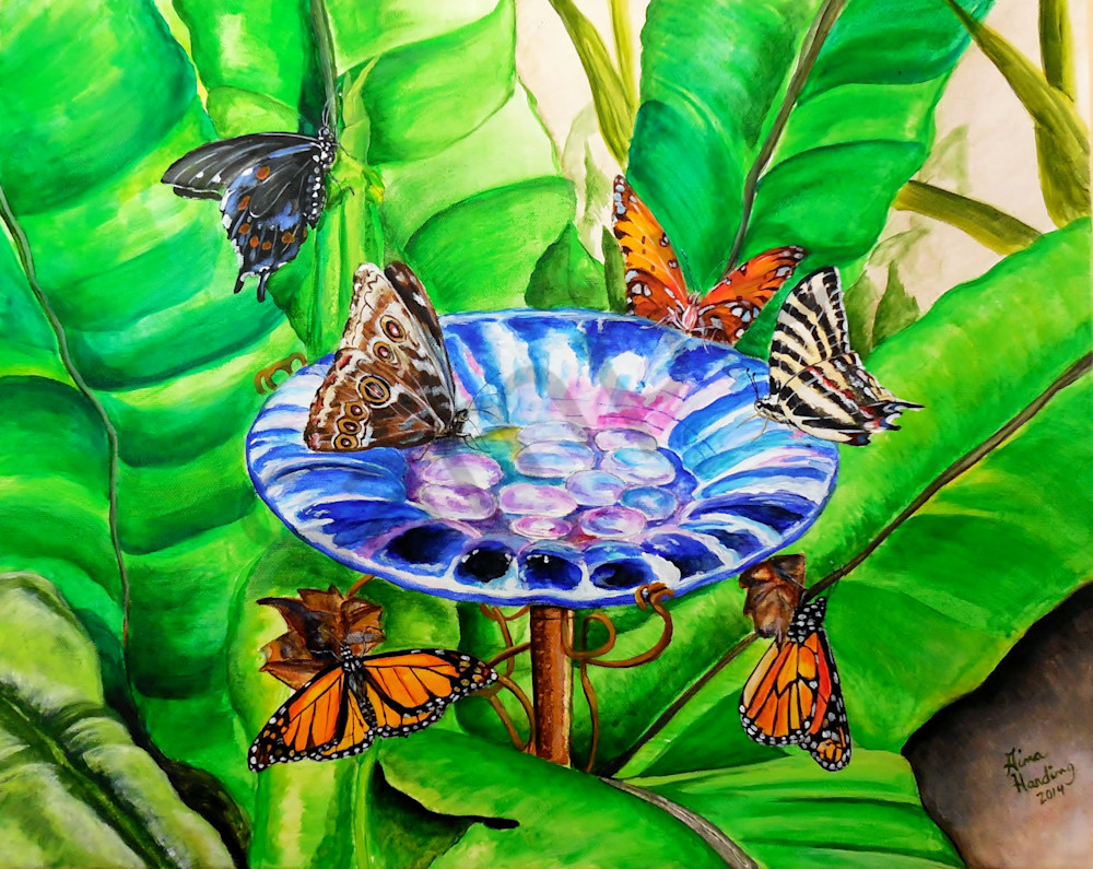 """""""Glass Flower"""" by Gina Harding 