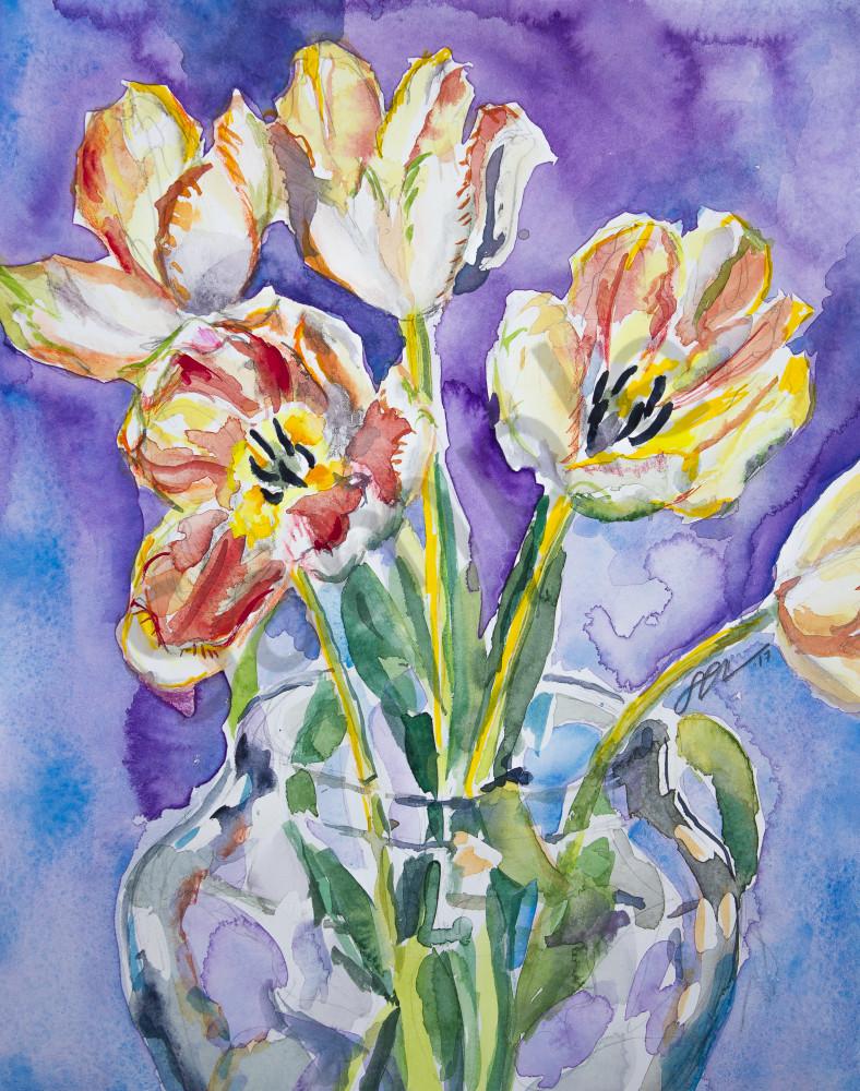 Tiger Tulips Fine Art Print