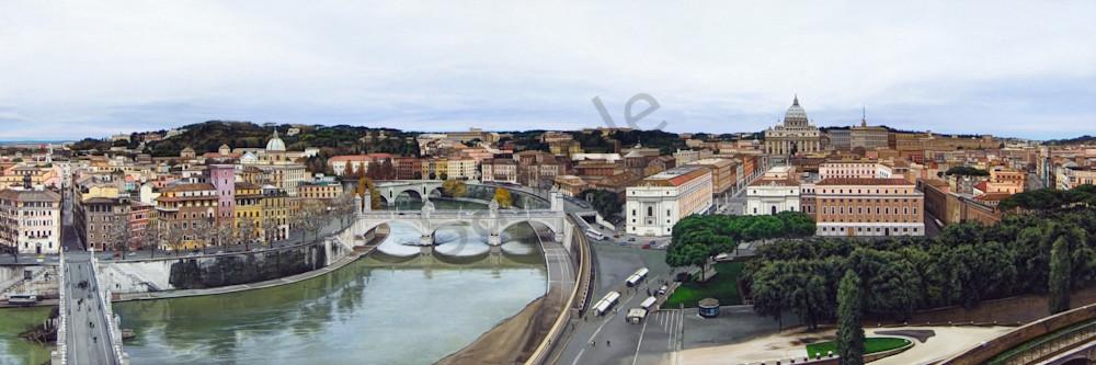 Rome cityscape print | Kevin Grass Fine Art