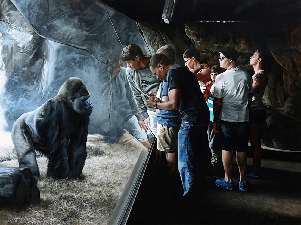Primates art print | Kevin Grass Fine Art