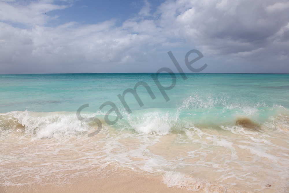 Azure Blue Atlantic Water Photograph from South Beach Miami art-prints-for-sale