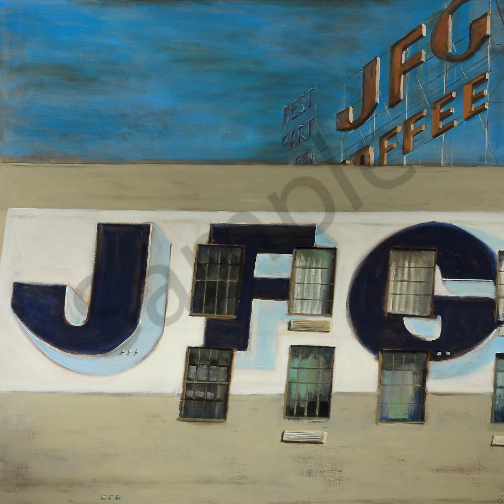 JFG Coffee Fine Art Print