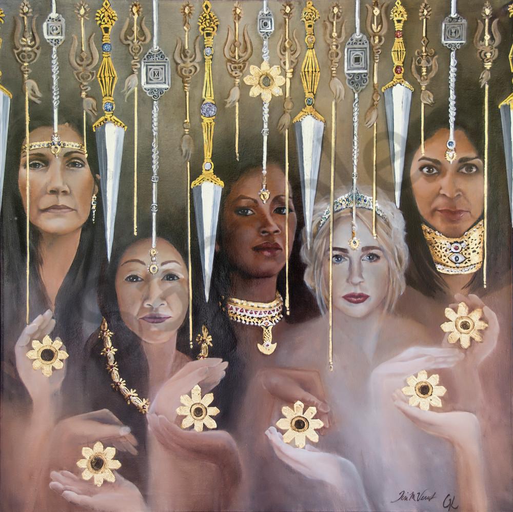 Designs by Teri | Teri Vereb Fine Art Paintings | Force | Klimt