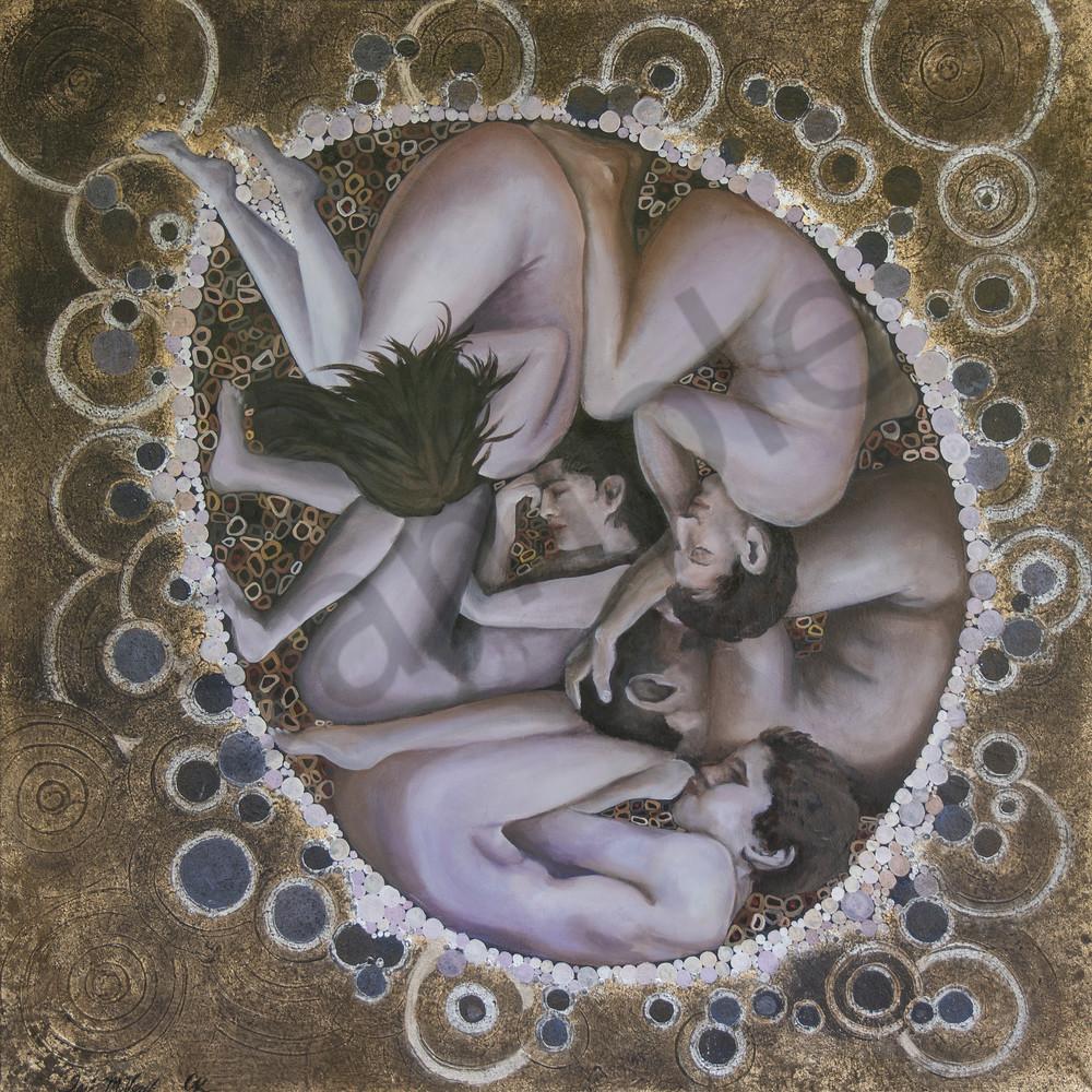 Designs by Teri | Teri Vereb Fine Art Paintings | Humanity | Klimt