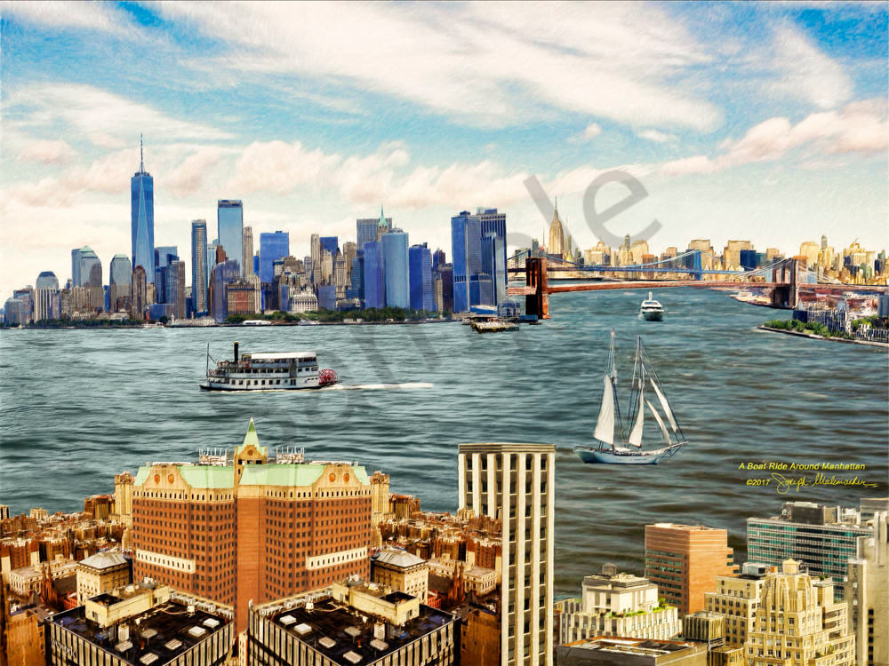 Skyline Art On Canvas - The Gallery Wrap Store