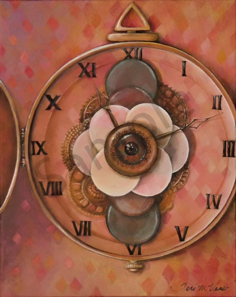 Designs by Teri   Teri Vereb Fine Art Paintings   Clock