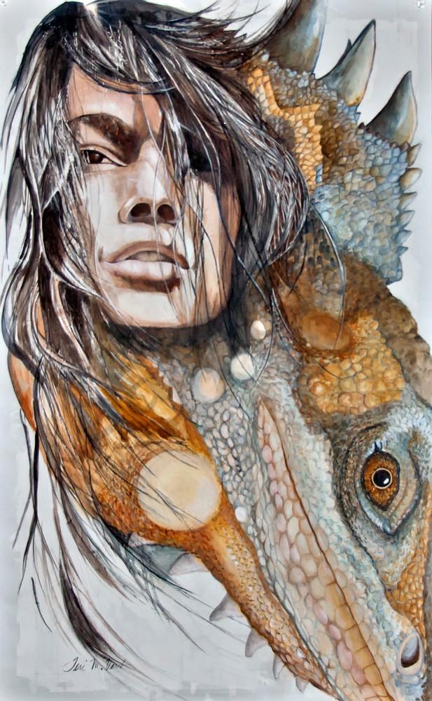Designs by Teri | Teri Vereb Fine Art Paintings | Lizard