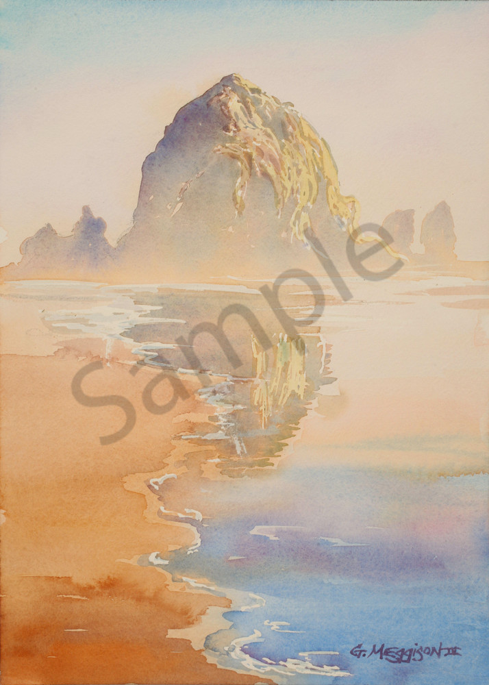 Haystack Rock | Zen Landscapes | Gordon Meggison IV