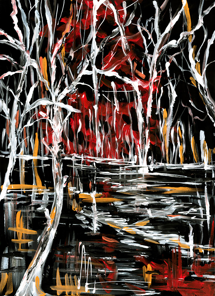Drama In The Woods Art | Janak Narayan Fine Art