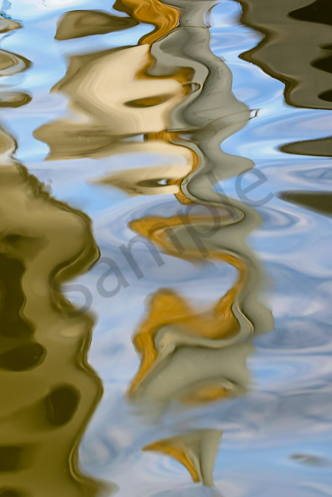 Water Motion # 6 - Abstract Fine Art Water Photographs for sale by Ron Pickering