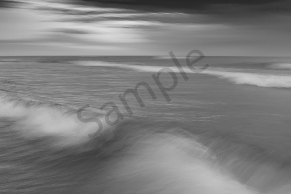 Water Motion # 16 - Abstract Fine Art Water Photographs for sale by Ron Pickering. Great for Interior Design.