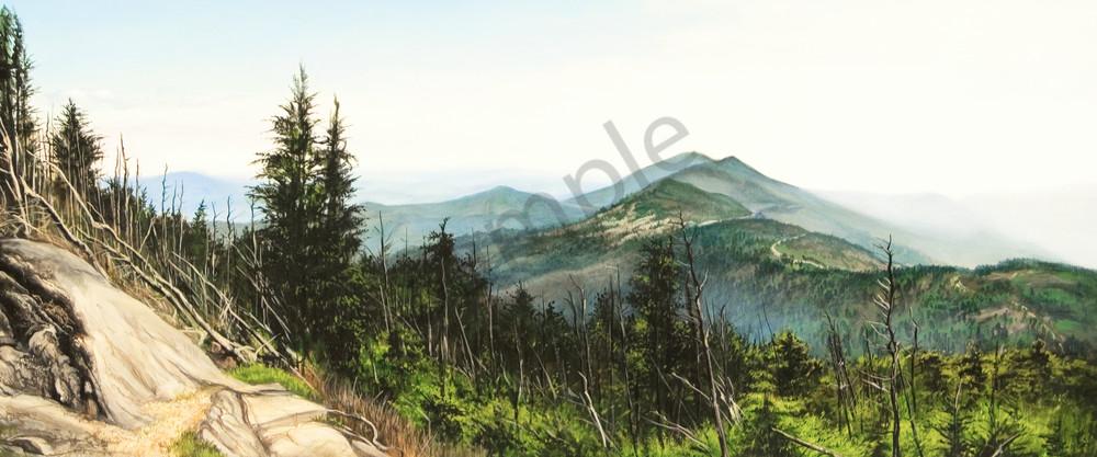 Blue Ridge mountains art print | Kevin Grass Fine Art