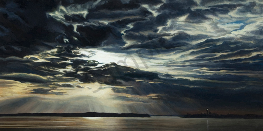 Dusk beach sunset print   Kevin Grass Fine Art
