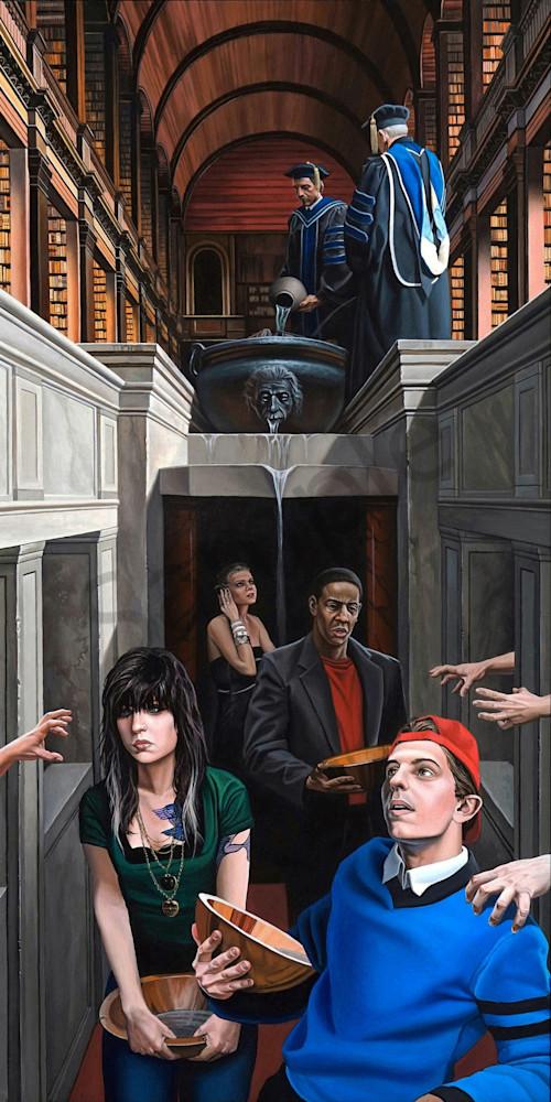Stream of Consciousness art print | Kevin Grass Fine Art